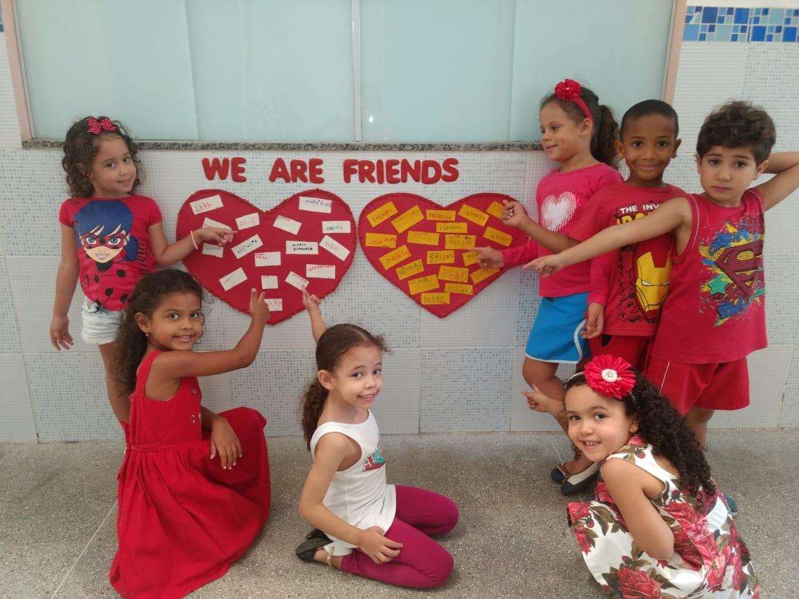 Dia do Amigo – Educação Infantil