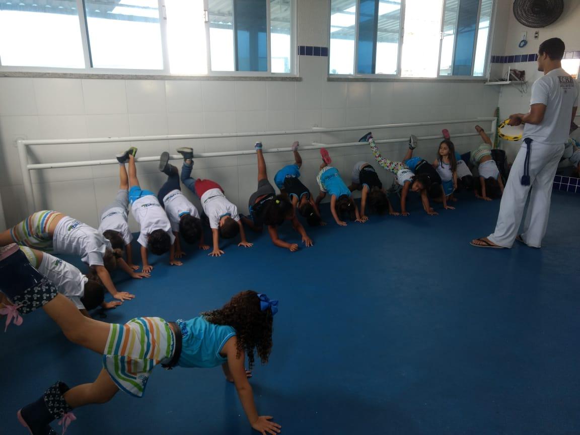 Aula de Capoeira – Educação Infantil
